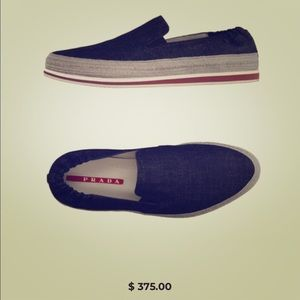 Men's Prada Loafers 🌲❤️